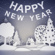 Royalty-Free Stock Photo: New year background