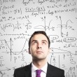 Man o and formulas - Stock Photo
