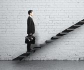 концепция лестница — Стоковое фото