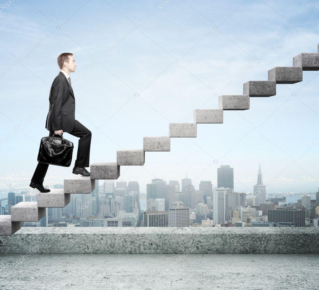 Карьерная лестница фото