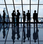 Geschäftsleute im büro — Stockfoto