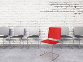 Moderní židle — Stock fotografie