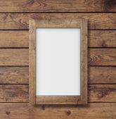 White poster — Stock Photo