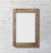 Brown frame — Stock Photo