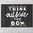 Think outside the box — Stock Photo #20392059