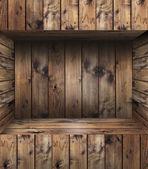 Ripiano in legno — Foto Stock