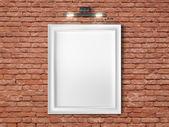 White frame — Stock Photo