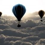 Three air baloon — Stock Photo #21291847