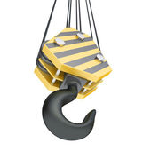 Crane hook — Stock Photo