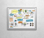 Disegno concetto aziendale — Foto Stock