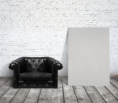 Chair in room — Stock Photo