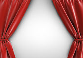 Red curtain — Stock Photo