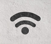 Wifi symbol — Stock Photo