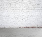 Quarto de tijolos — Fotografia Stock