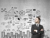 Affärsstrategi — Stockfoto