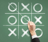 Tic tac toe — Stock Photo