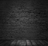 Brick room — Stock Photo