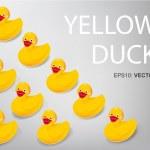 Постер, плакат: Many duck
