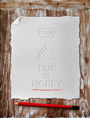 Time is money — Stok fotoğraf