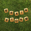 Brainstorm — Foto de Stock