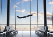 Luchthaven interieur — Stockfoto
