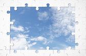 Window puzzle — Stockfoto