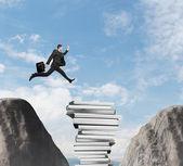 Hombre que salta — Foto de Stock