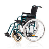 Vehicle for handicapped persons - wheelchair. — Stock Photo