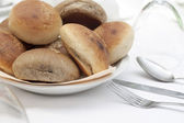 Bread and cutlery — Stock Photo
