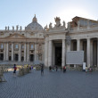 The vatican square — Stock Photo