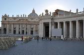 The vatican square — Stock Photo