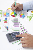 Business Data Analyzing — Stockfoto