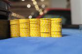 Detalj av roulette bord — Stockfoto