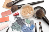 Workplace of makeup artist — Stock Photo