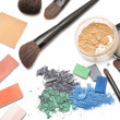Professional cosmetics for makeup - Stock Photo