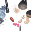 Stock Photo: Cosmetics for makeup