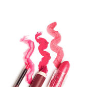 Lip makeup — Foto de Stock