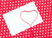 Love letter, declaration of love — Stock Photo