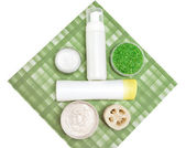 Cosmetic products for body care — Foto Stock
