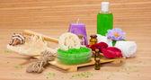 Spa accessories — Stock Photo