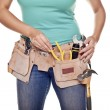 Construction woman. — Stock Photo