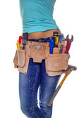 DIY woman. — Stock Photo