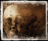 Spooky doll photograph. — Stock Photo
