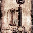 Antique telephone. — Stock fotografie #25993871