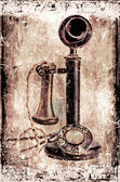 Antique telephone. — Stock Photo