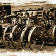 Retro bicyles. — Foto de Stock