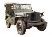 Vintage jeep. — Stock Photo