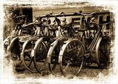 Retro bicyles. — Stock Photo