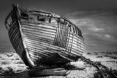 Old fishing boat. — Stock Photo