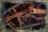Herramientas oxidados. — Foto de Stock